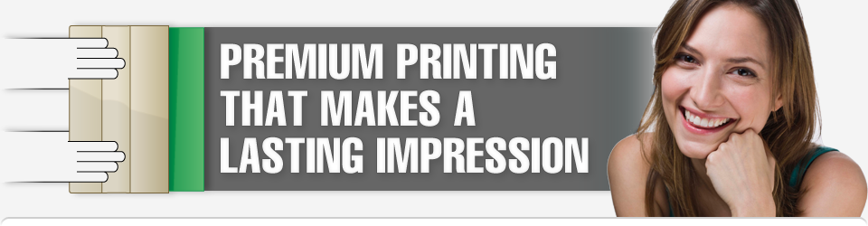 Premium Printing That Makes A Lasting Impression | Smiling woman